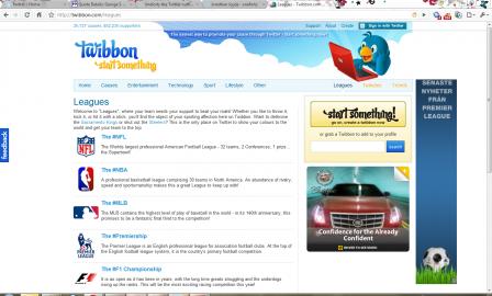 Socdir screenshot of Twibbon