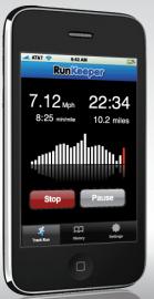 Socdir screenshot of RunKeeper Pro