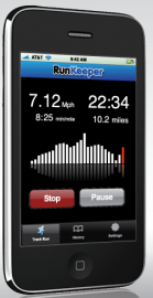 Socdir screenshot of RunKeeper Free