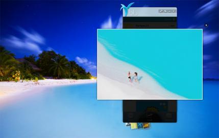 Socdir screenshot of blu