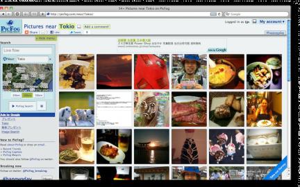 Socdir screenshot of PicFog