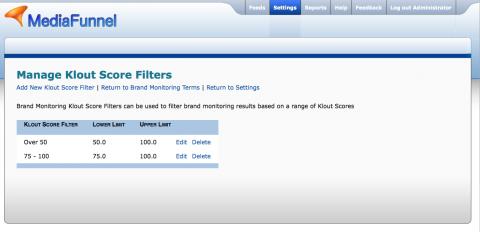 Socdir screenshot of MediaFunnel