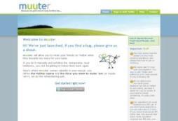 Socdir screenshot of Muuter