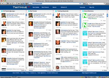 Socdir screenshot of TwitHive