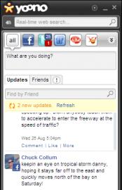 Socdir screenshot of Yoono for Firefox