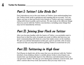 Socdir screenshot of Twitter for Dummies