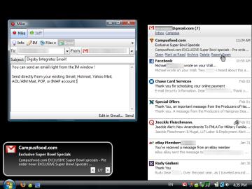 Socdir screenshot of Digsby