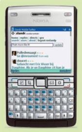 Socdir screenshot of Slandr Mobile Twitter