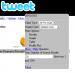 Socdir screenshot of EduTweet